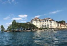 Borromeo Palace landmark Royalty Free Stock Image