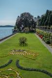 Borromeo Villa garden Royalty Free Stock Image