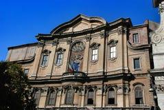 Borromini's éloquence de saint Phillip Neri de Filippini del () Borromini de dei d'oratorio/Sala Borromini Photographie stock libre de droits