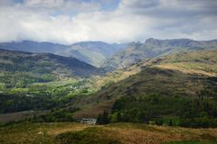 Borrowdale Fells Royalty Free Stock Image