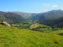 Borrowdale in the Lake District, England Royalty Free Stock Image