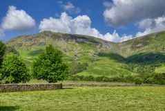 Borrowdale Tal Stockfoto