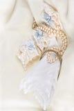 Borrowed handkerchief Stock Photos