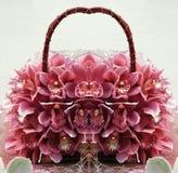 Borsa 3 dell'orchidea Fotografia Stock Libera da Diritti