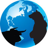 Borsa Fotografie Stock