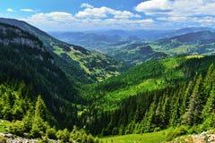 Borsa city with mountaind behind. Royalty Free Stock Photo