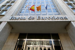 Borsa de Barcelona Stock Image