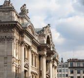 Borsa de Bruxelles a Bruxelles Fotografia Stock