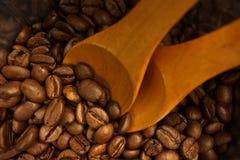 Borsa dei chicchi di caffè Fotografie Stock