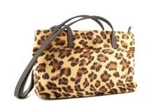 Borsa del leopardo Fotografie Stock Libere da Diritti