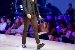 Borsa del maschio di Sofia Fashion Week Fotografia Stock Libera da Diritti