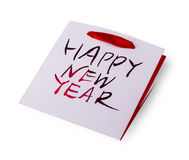 Borsa del ` s del nuovo anno di Empy con le maniglie Immagine Stock