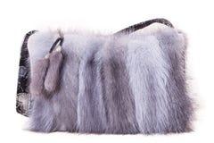 Borsa della pelliccia Immagini Stock