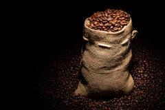 Borsa di caffè immagine stock libera da diritti