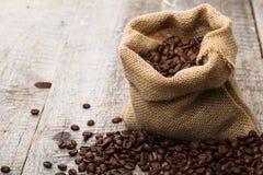 borsa di caffè Fotografia Stock