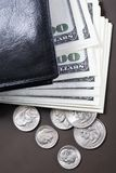 Borsa di gonfiamento Fotografia Stock