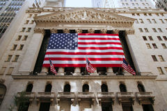 Borsa di New York Fotografie Stock Libere da Diritti