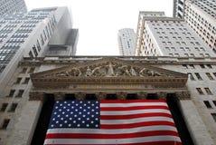 Borsa di New York immagine stock