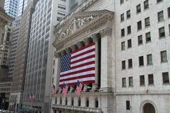 Borsa di New York, Wall Street Fotografia Stock Libera da Diritti