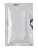 Borsa di plastica del pacchetto isolata Fotografia Stock
