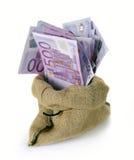 Borsa di soldi Immagine Stock