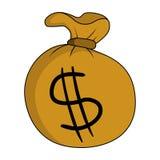 Borsa di soldi royalty illustrazione gratis