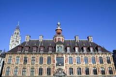 Borsa di Vieille sul grande posto a Lille Fotografie Stock