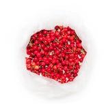 Borsa fresca delle ciliege fotografie stock libere da diritti