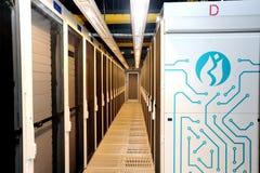 Borsa istanbul datorhall Arkivfoton