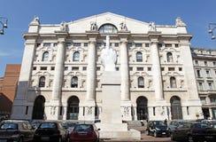 The Borsa Italiana S.p.A Royalty Free Stock Photography