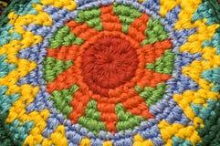 borsa lavorata a maglia del cambiamento Fotografia Stock