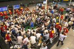 Borsa merci Immagini Stock