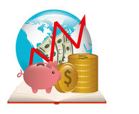 Borsa valori Fotografia Stock