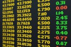 Borsa valori di affari Fotografia Stock