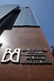 Borsa valori di Bucarest immagini stock libere da diritti