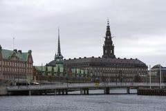 Borsa valori di Copenhaghen o CSE Fotografia Stock Libera da Diritti