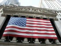 Borsa valori di New York Immagini Stock