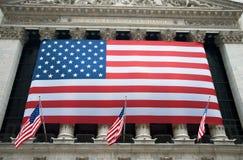Borsa valori di New York City Immagine Stock Libera da Diritti