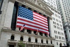 Borsa valori di New York City fotografia stock libera da diritti