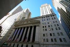 Borsa valori di NY Fotografia Stock Libera da Diritti