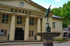 Borsa valori di Oslo Immagine Stock