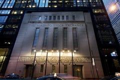 Borsa valori di Toronto Fotografia Stock Libera da Diritti