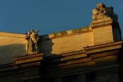 Borsa valori italiana a Milano Fotografia Stock Libera da Diritti