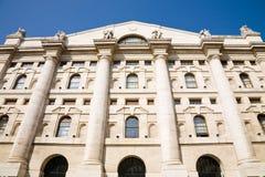 Borsa valori, Milano Fotografia Stock