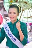 Borsang umbrella festival stock photos