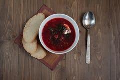 Borsch σούπα Στοκ φωτογραφία με δικαίωμα ελεύθερης χρήσης