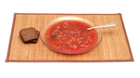 Borsch. Royalty Free Stock Images