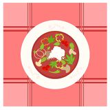 Borsch illustration Royalty Free Stock Photos