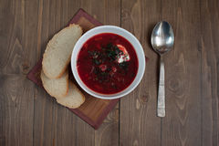Borsch soup Royalty Free Stock Photography
