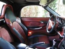 Borsche Boxer S. Cabrio interior stock image